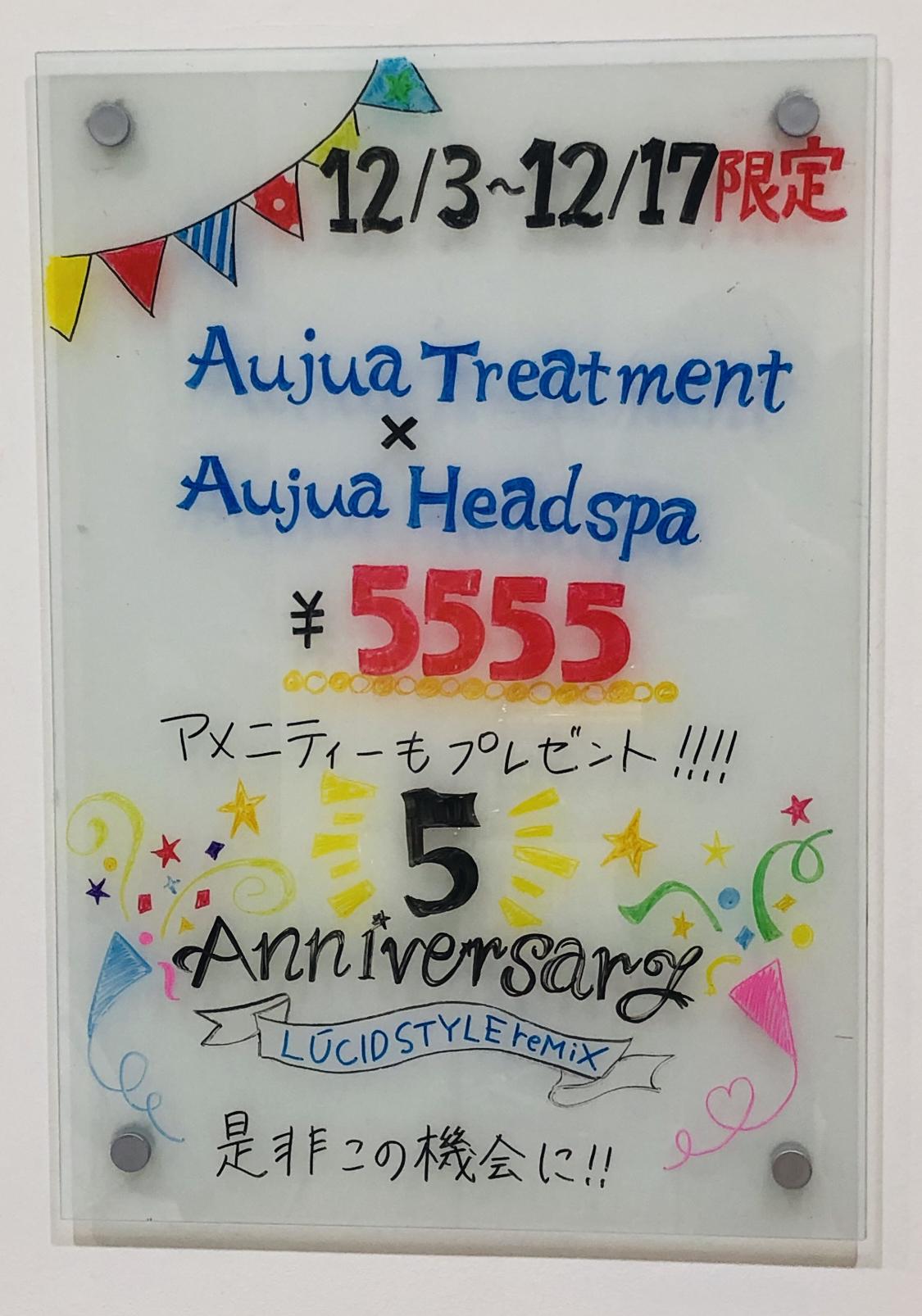 5th anniversary‼︎